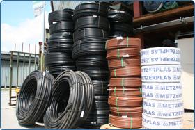 kapljično namakanje s PVC cevmi