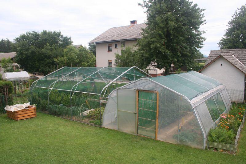Zaščita proti toči - rastlinjaki