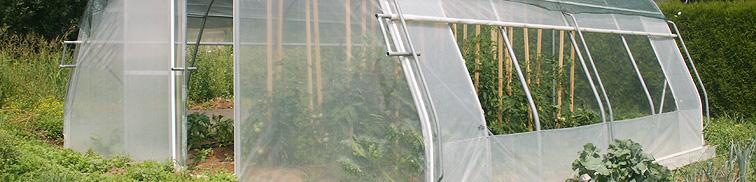 UV folija EVA za brezskrbno pridelavo zelenjave
